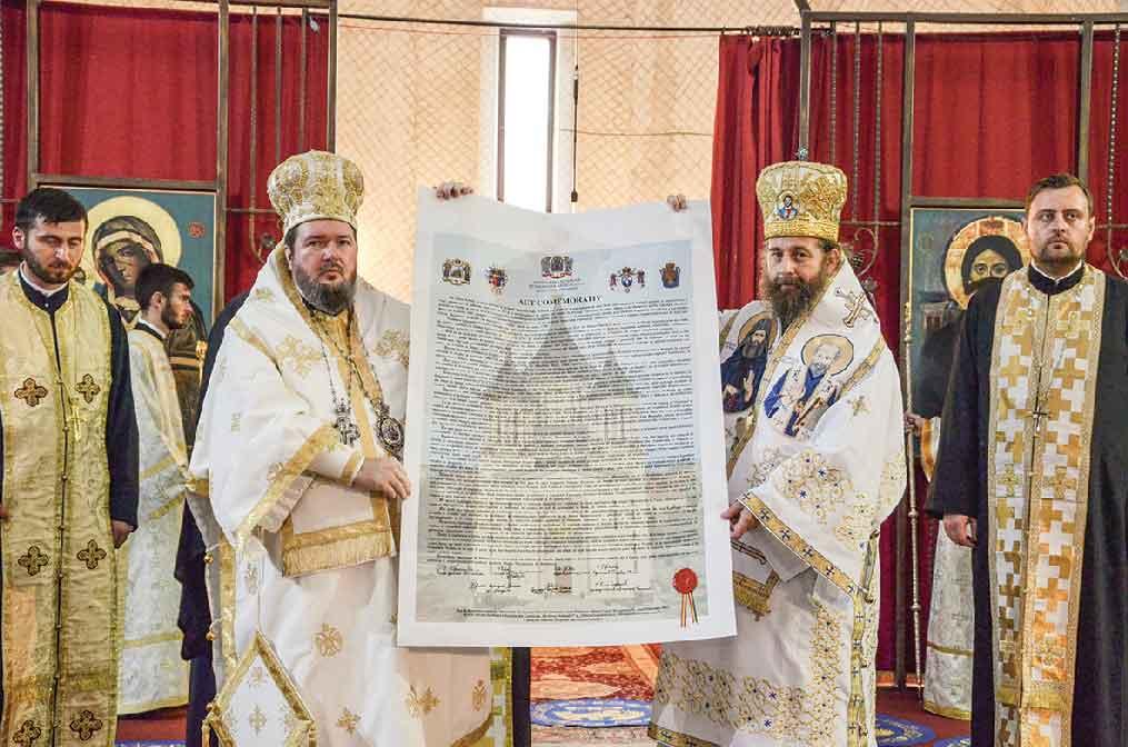 320 de ani de la atestarea documentară oficială a Episcopiei Oradiei