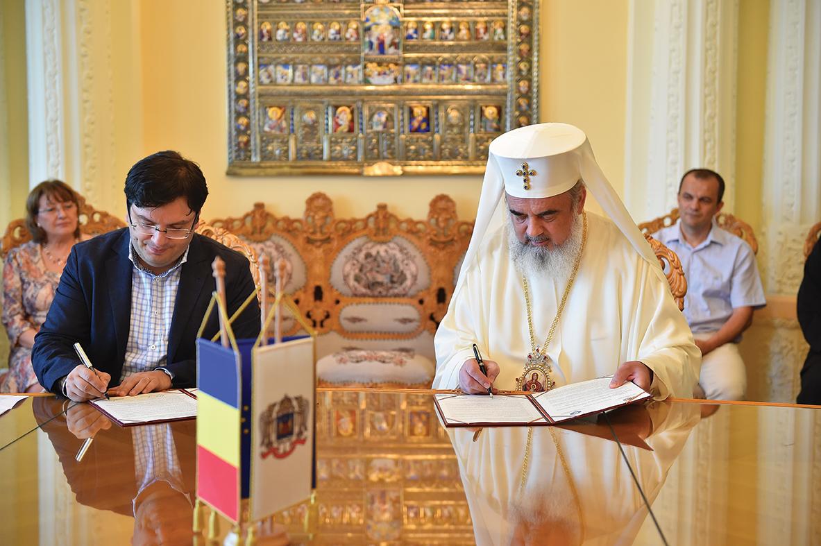 Protocol de cooperare între Patriarhia Română şi Ministerul Sănătăţii