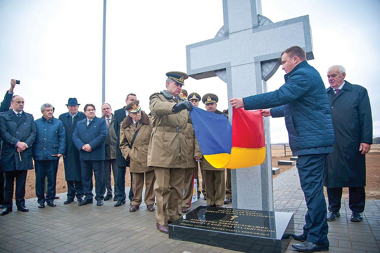 A fost inaugurat cimitirul militarilor români căzuţi la Stalingrad