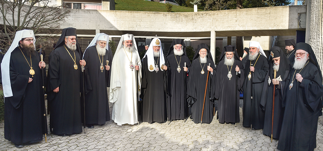 Comunicat de presă al Secretariatului Sinaxei privind Sinaxa întâistătătorilor Bisericilor Ortodoxe, Chambésy, 21-27 ianuarie 2016
