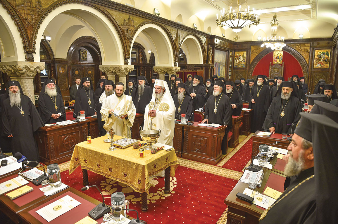 Ședință solemnă a Sfântului Sinod