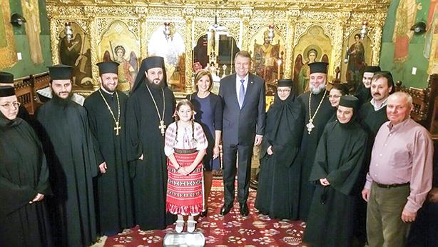 Preşedintele României, pelerin la Locurile Sfinte