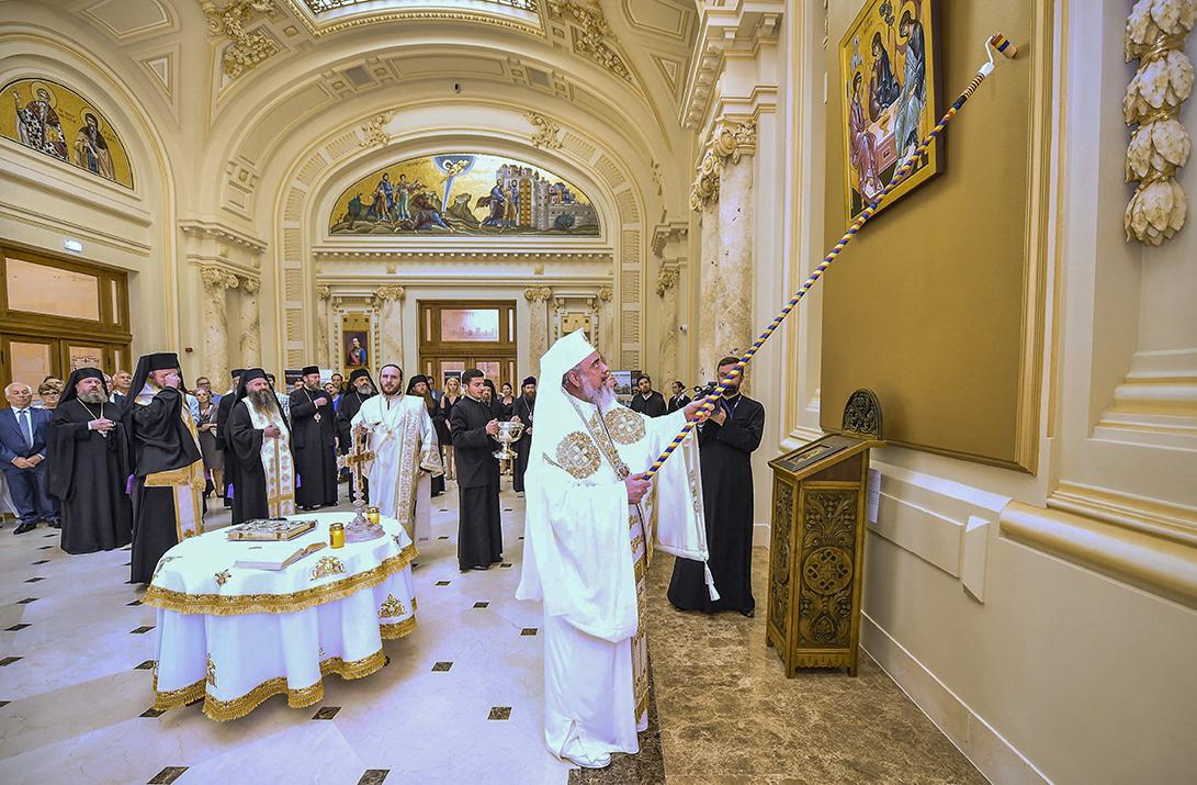 Palatul Patriarhiei, restaurat şi binecuvântat