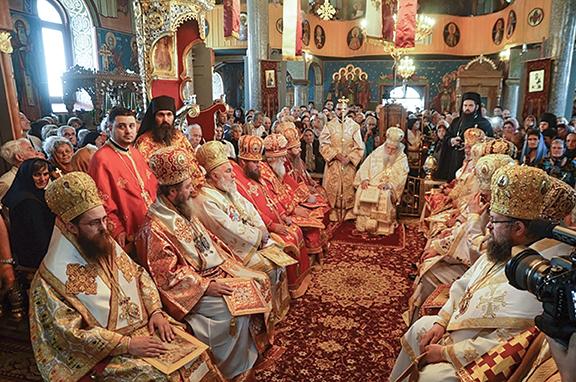 Sfinţii Martiri de la Durostor, cinstiţi la Silistra