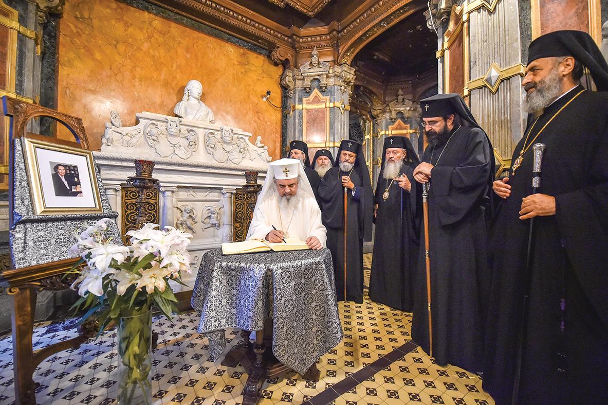 Mesajul Preafericitului Părinte Daniel, Patriarhul României, cu prilejul trecerii din această viaţă a Majestăţii Sale Regina Ana a României