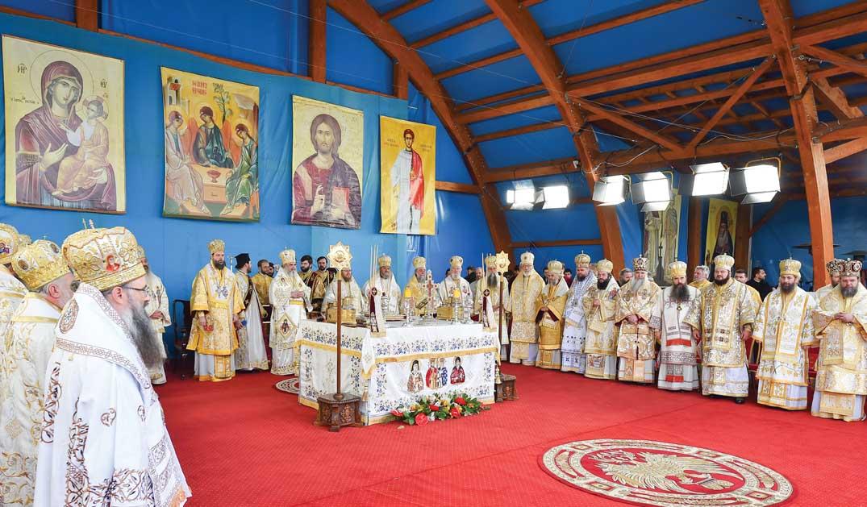 Moaştele Sfântului Arhidiacon Ştefan la sărbătoarea Sfântului Cuvios Dimitrie cel Nou
