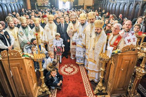 S-a sfințit o capelă românească la Paris