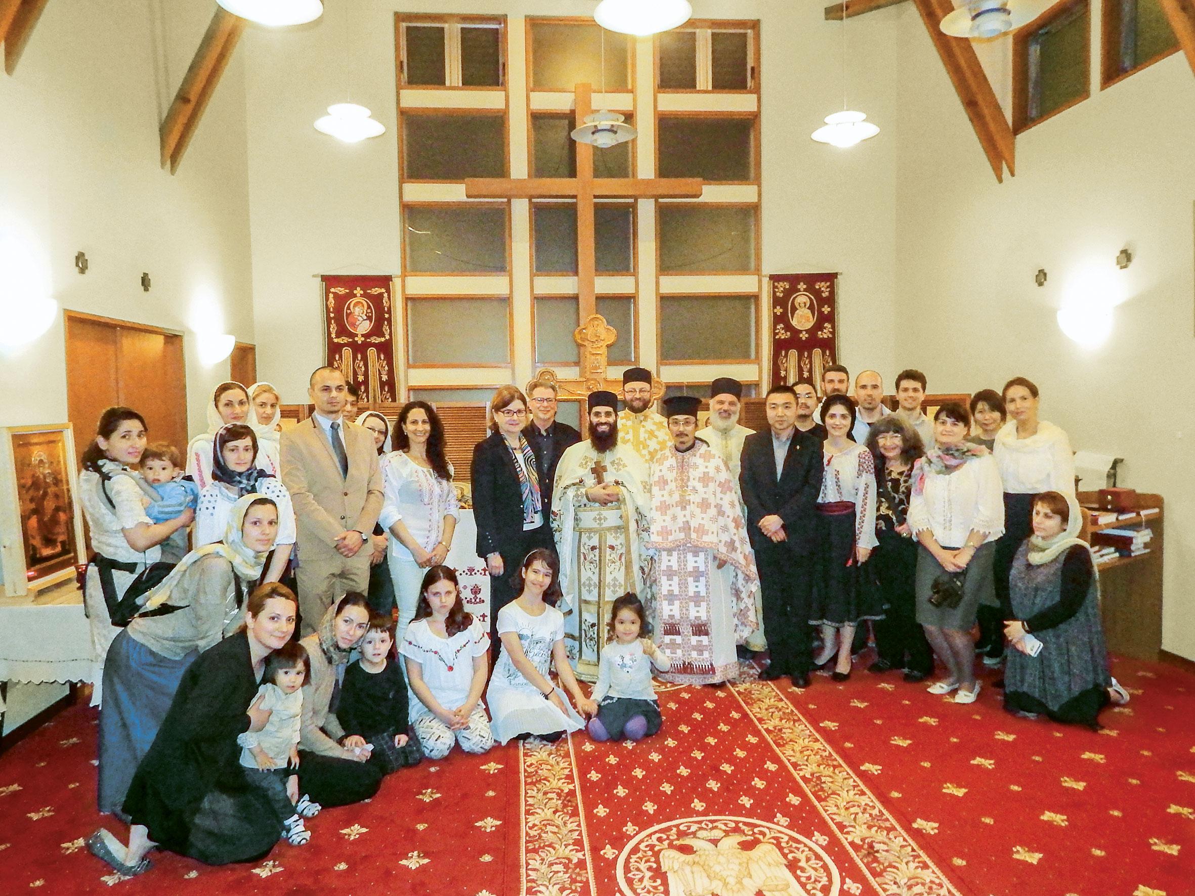 Locaș de cult pentru românii ortodocși din Tokyo