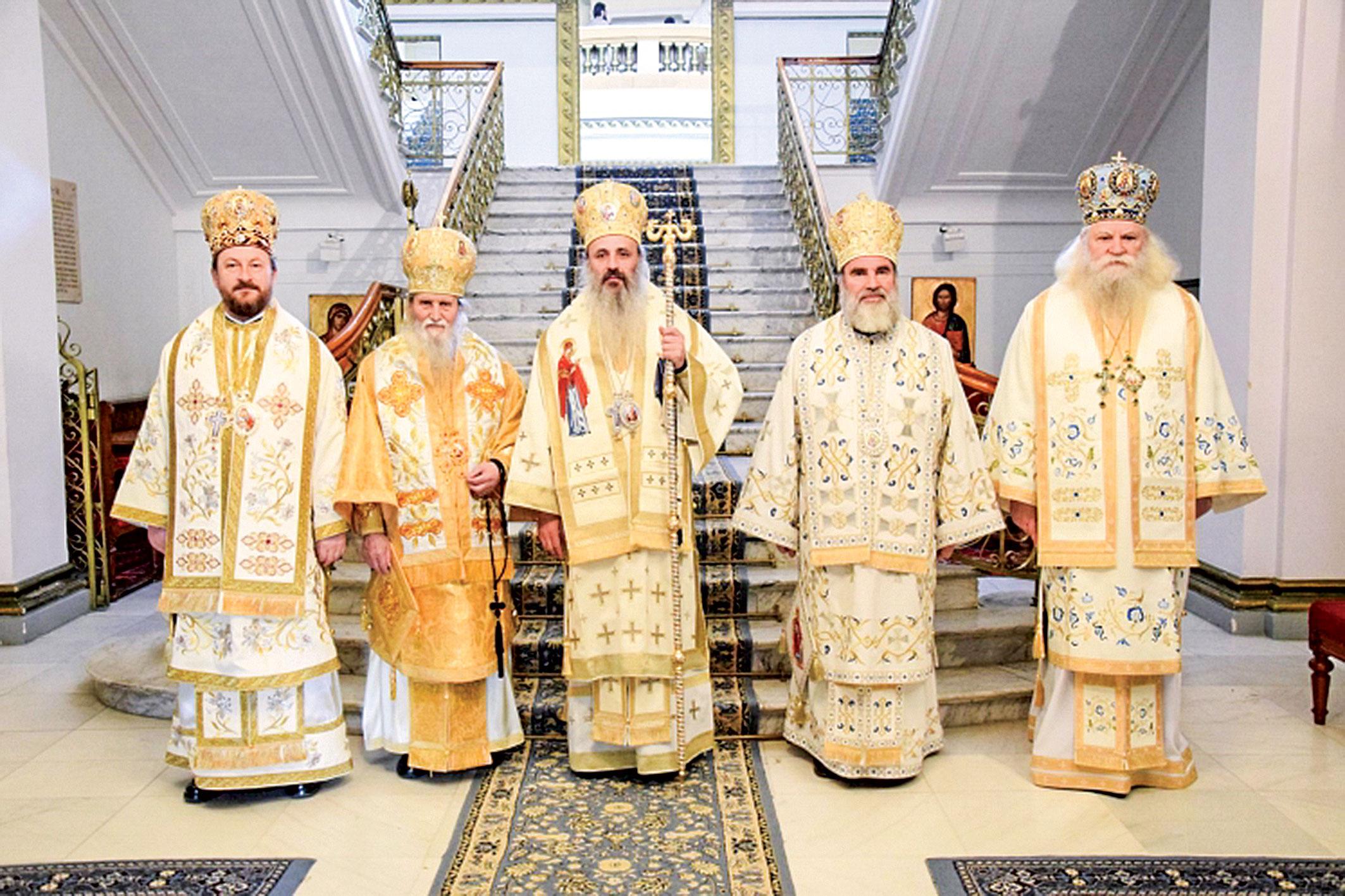 Ședința Sinodului Mitropoliei Moldovei și Bucovinei