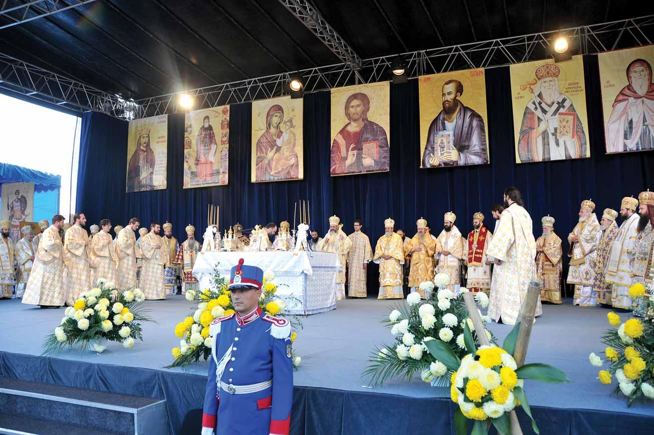 30 de sfinţi români în calendar în 10 ani de Patriarhat / 30 Romanian saints in the calendar in 10 years of Patriarchate