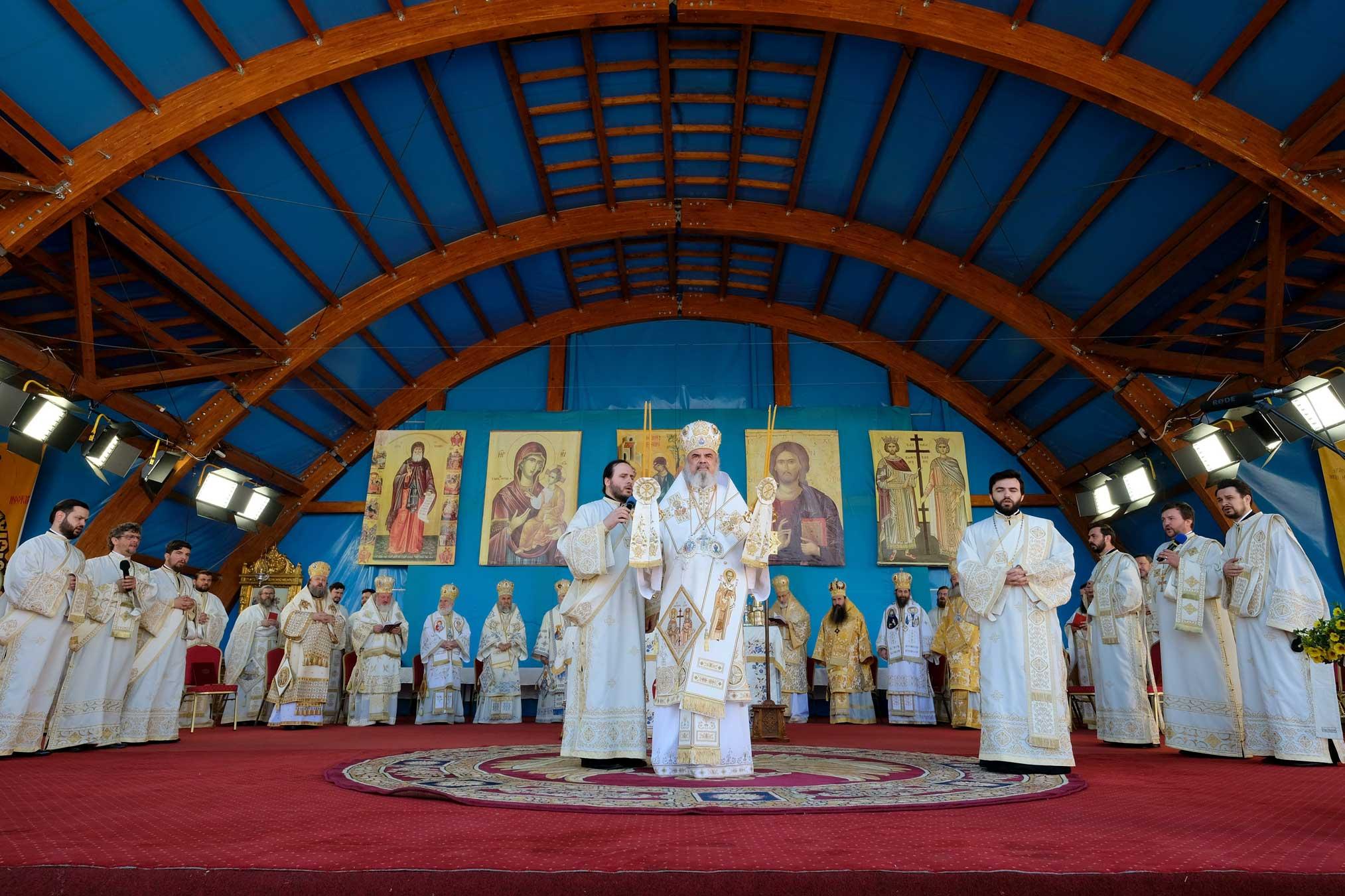 Prăznuirea hramului istoric la Catedrala Patriarhală