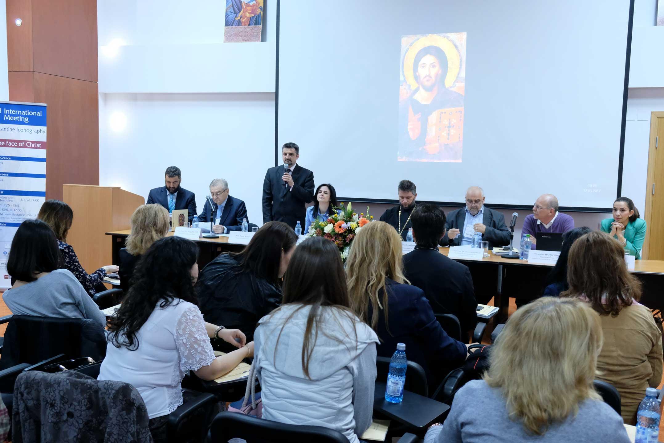 Simpozion despre icoana bizantină la București