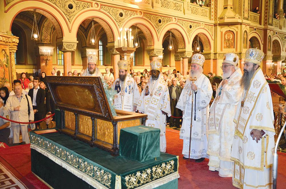 Rugăciune și cinstire  pentru ocrotitorul Banatului