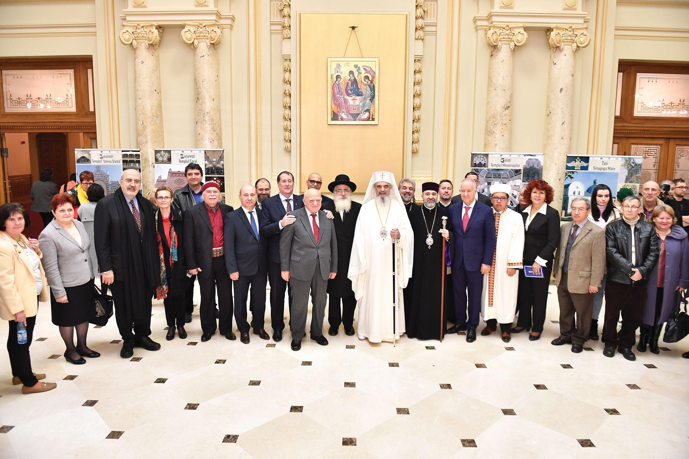 Expoziție și simpozion la Palatul Patriarhiei