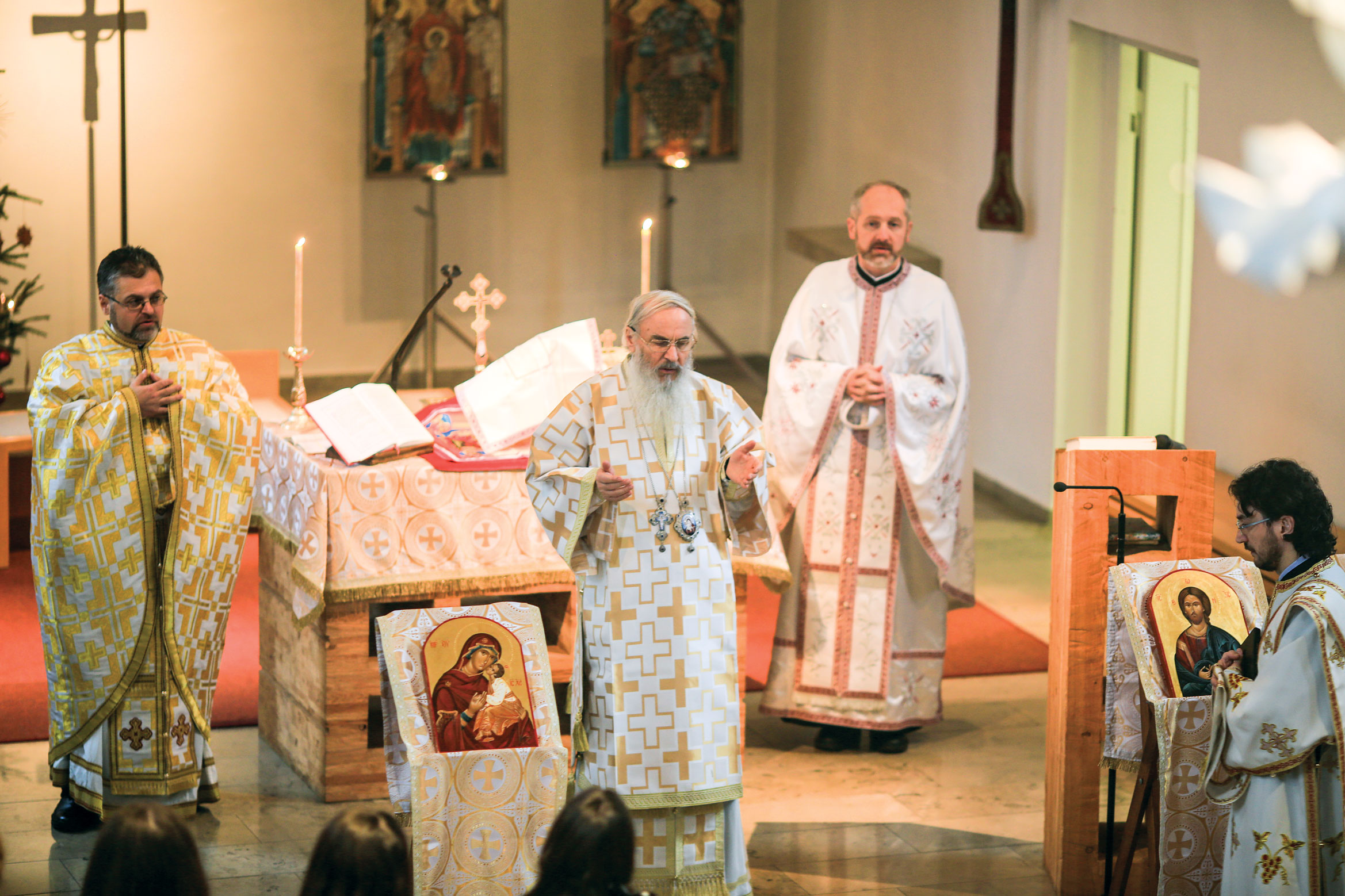 Bucurii duhovnicești pentru românii ortodocși din München