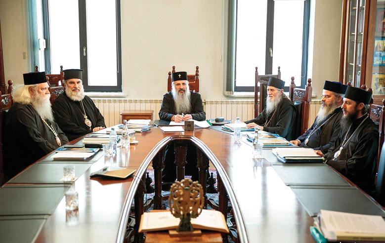 Sinodul mitropolitan al Mitropoliei Moldovei și Bucovinei s-a întrunit la început de an