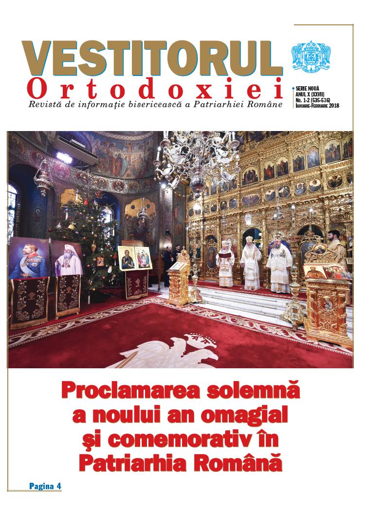 Vestitorul Ortodoxiei în haină nouă: sinteze și selecții de calitate din actualitatea bisericească