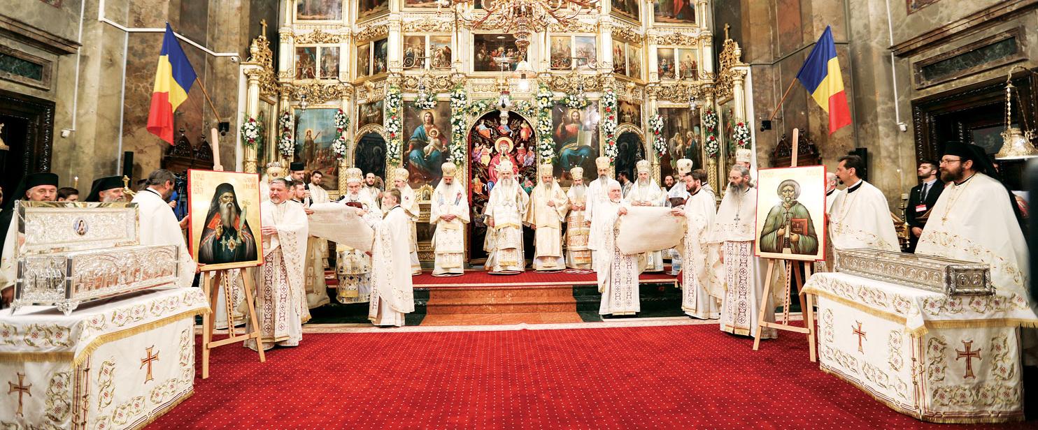 Proclamarea canonizării Sfinţilor Iosif cel Milostiv și Gheorghe Pelerinul