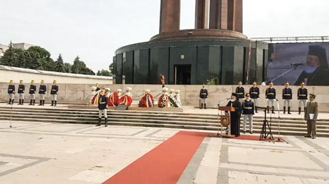 Pomenirea eroilor români de sărbătoarea Înălțării Domnului