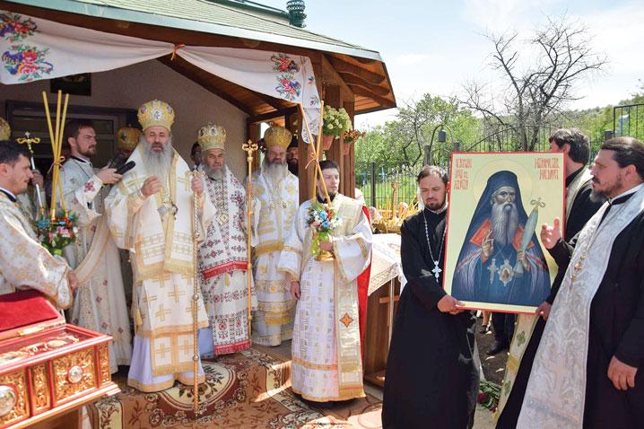 Ceremonii locale ale proclamării canonizărilor Sfinţilor Iosif cel Milostiv şi Gheorghe Pelerinul