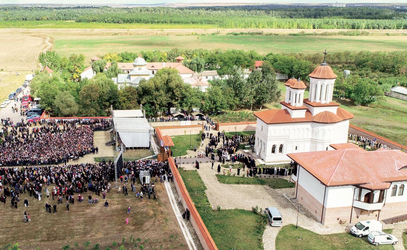Biserica Mănăstirii Măxineni a fost sfințită
