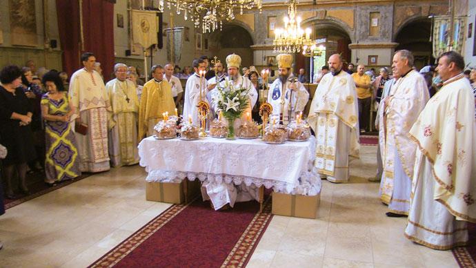 Comuniune frățească ortodoxă la Giula