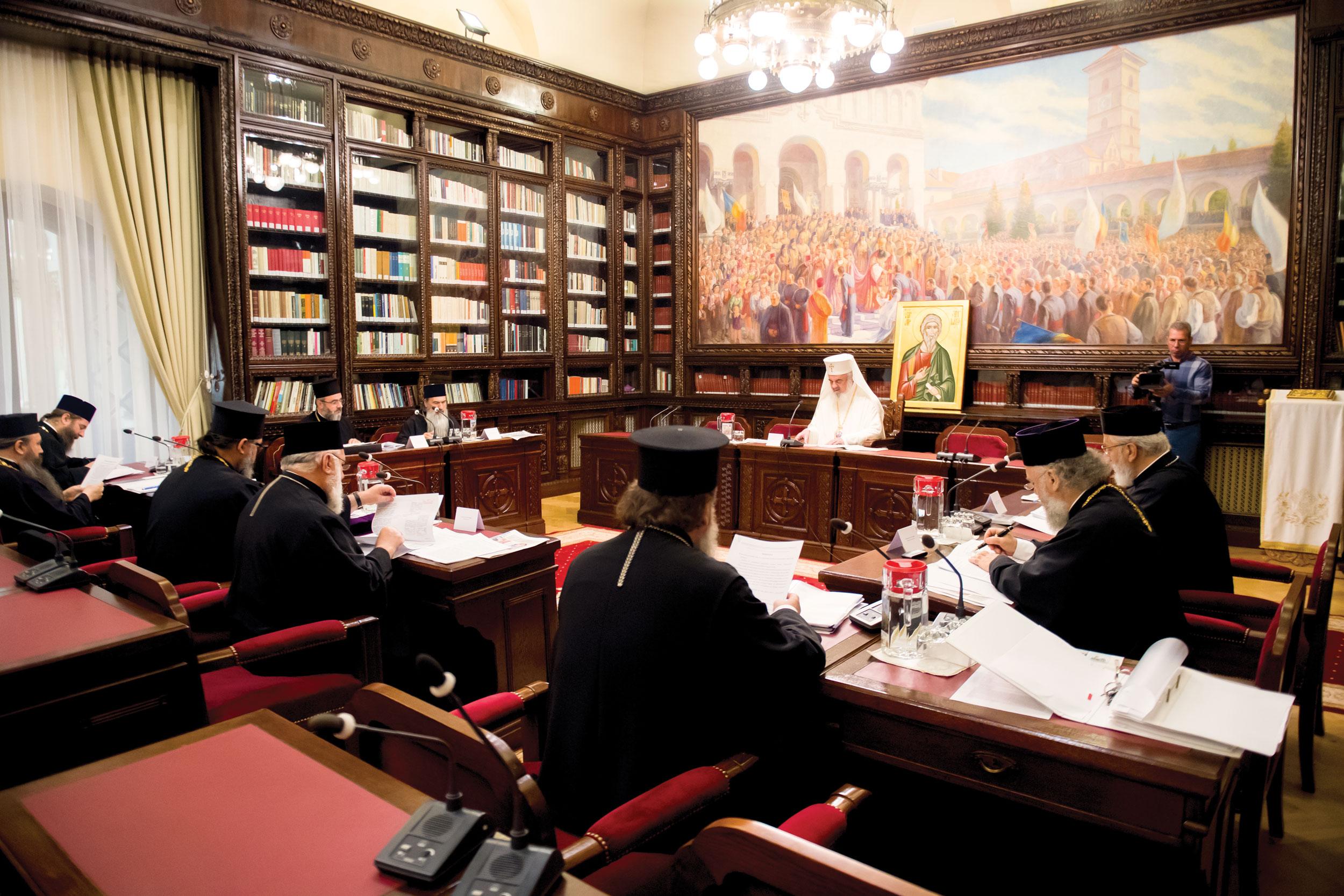 Sinod mitropolitan la Reședința Patriarhală