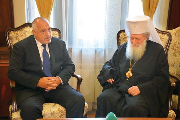 Premierul Boiko Borisov a discutat cu arhiereii bulgari despre noua lege a cultelor