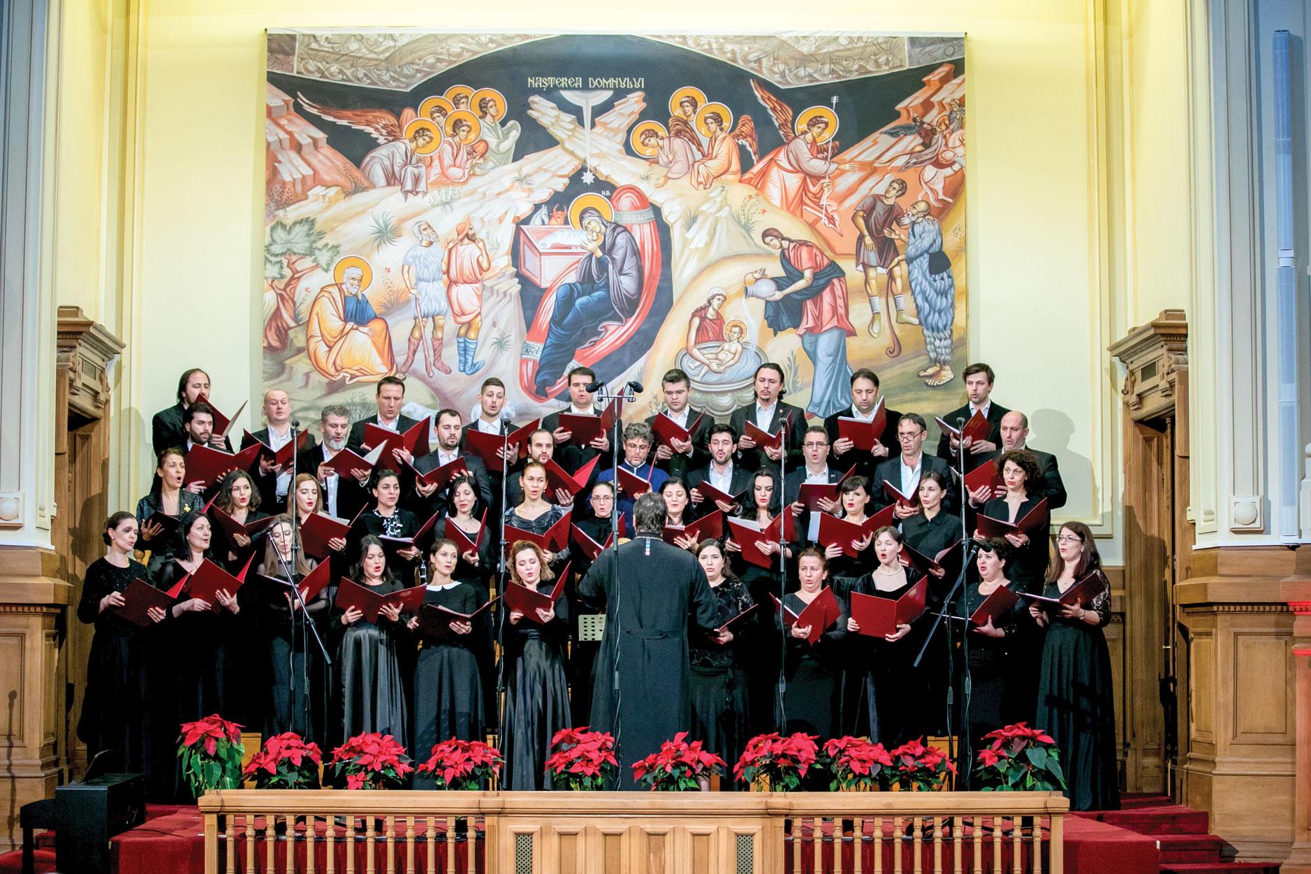 """Concert de colinde """"Răsăritul cel de Sus"""",  la Patriarhie"""