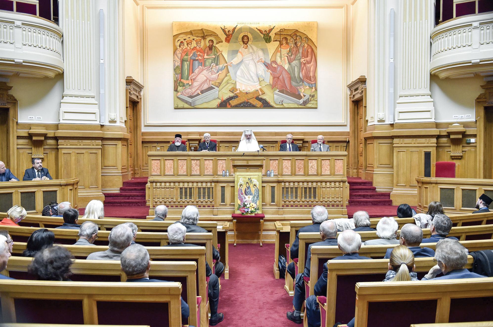 Conferință despre satul românesc la Palatul Patriarhiei