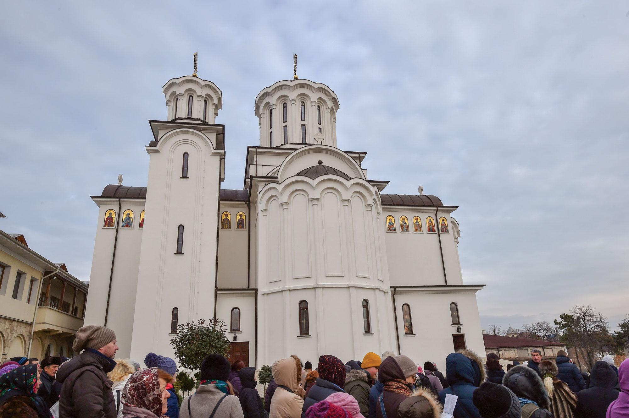 Biserica Mănăstirii Techirghiol a fost sfințită