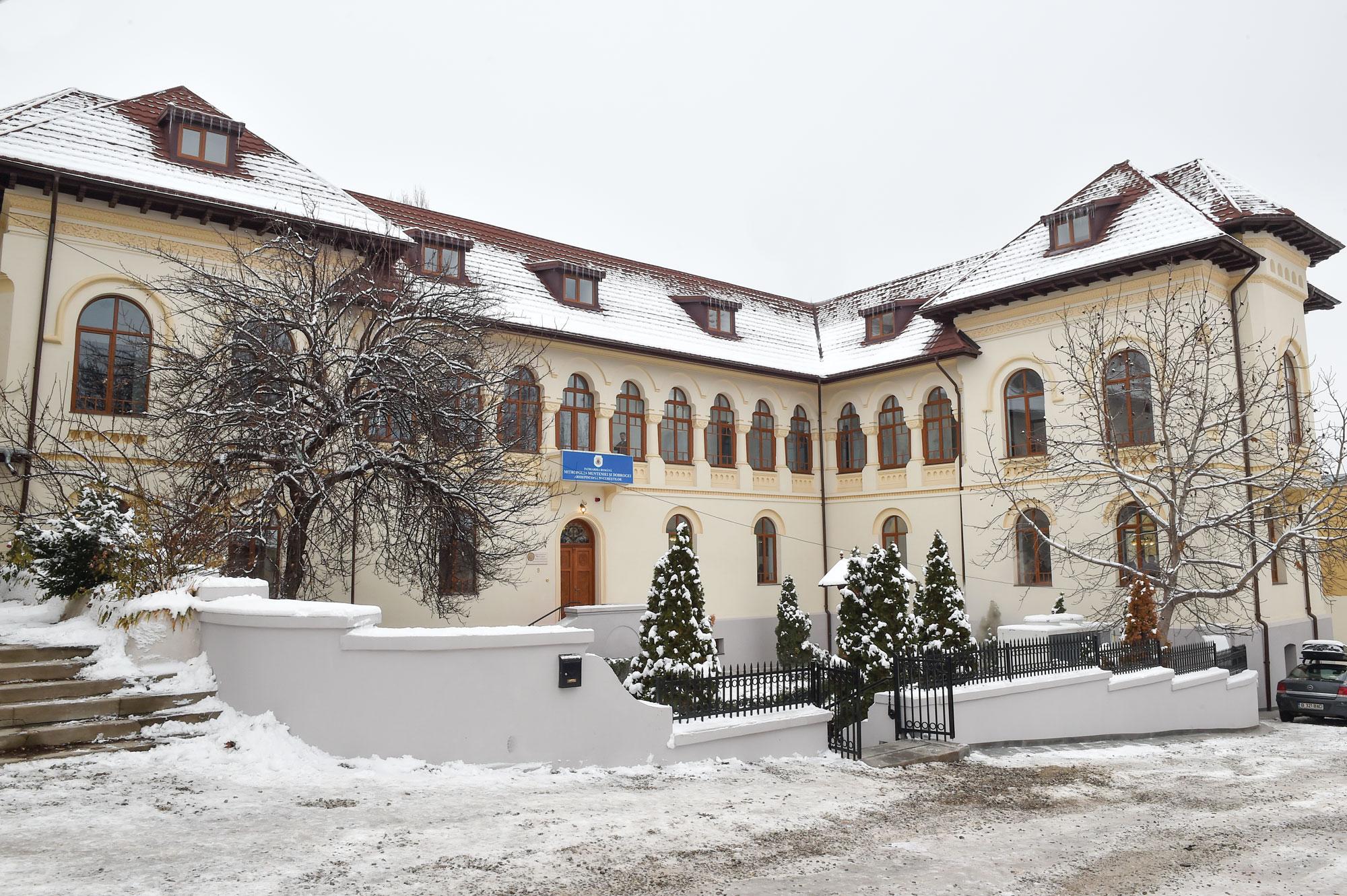 Sfințirea sediului administrativ al Eparhiei Bucureștilor