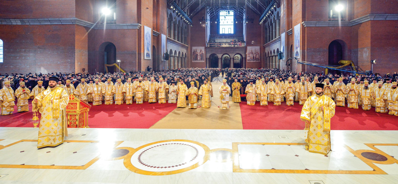 Cinstire adusă Apostolului românilor la Catedrala Națională