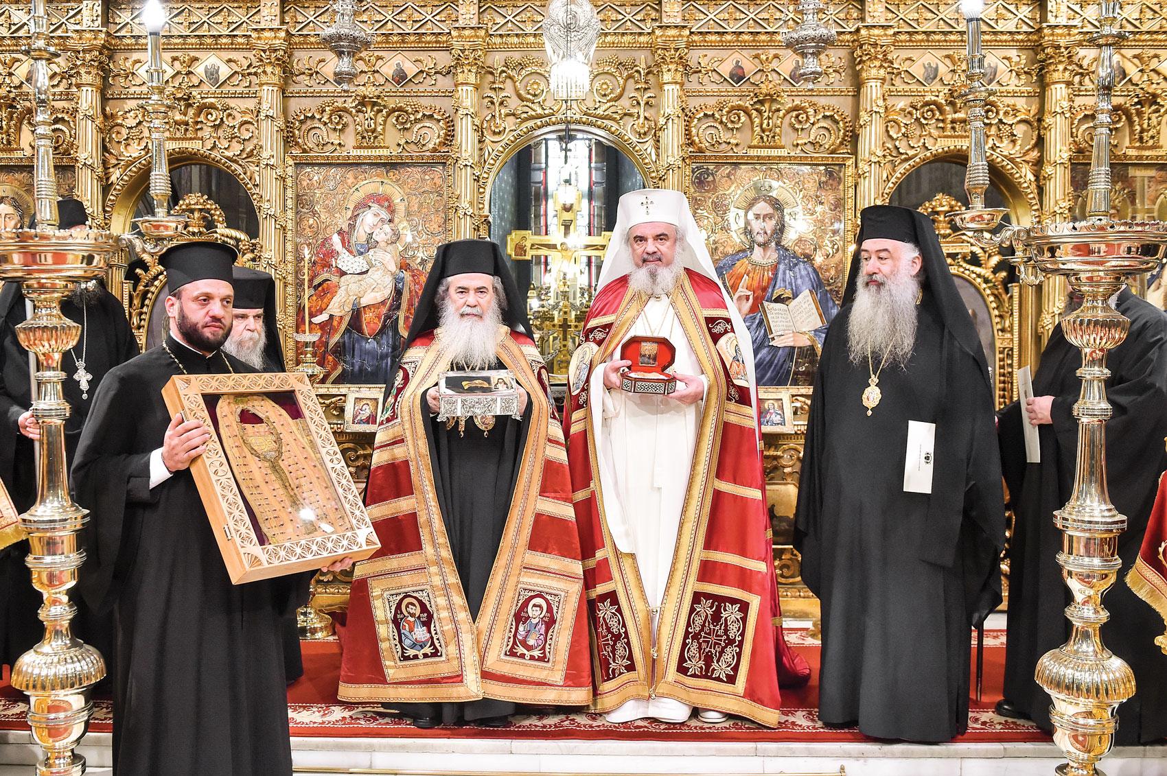 Patriarhul Ierusalimului în România