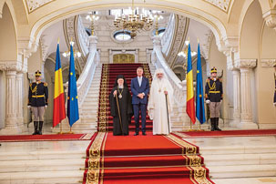Patriarhul Ecumenic s-a întâlnit cu președintele României