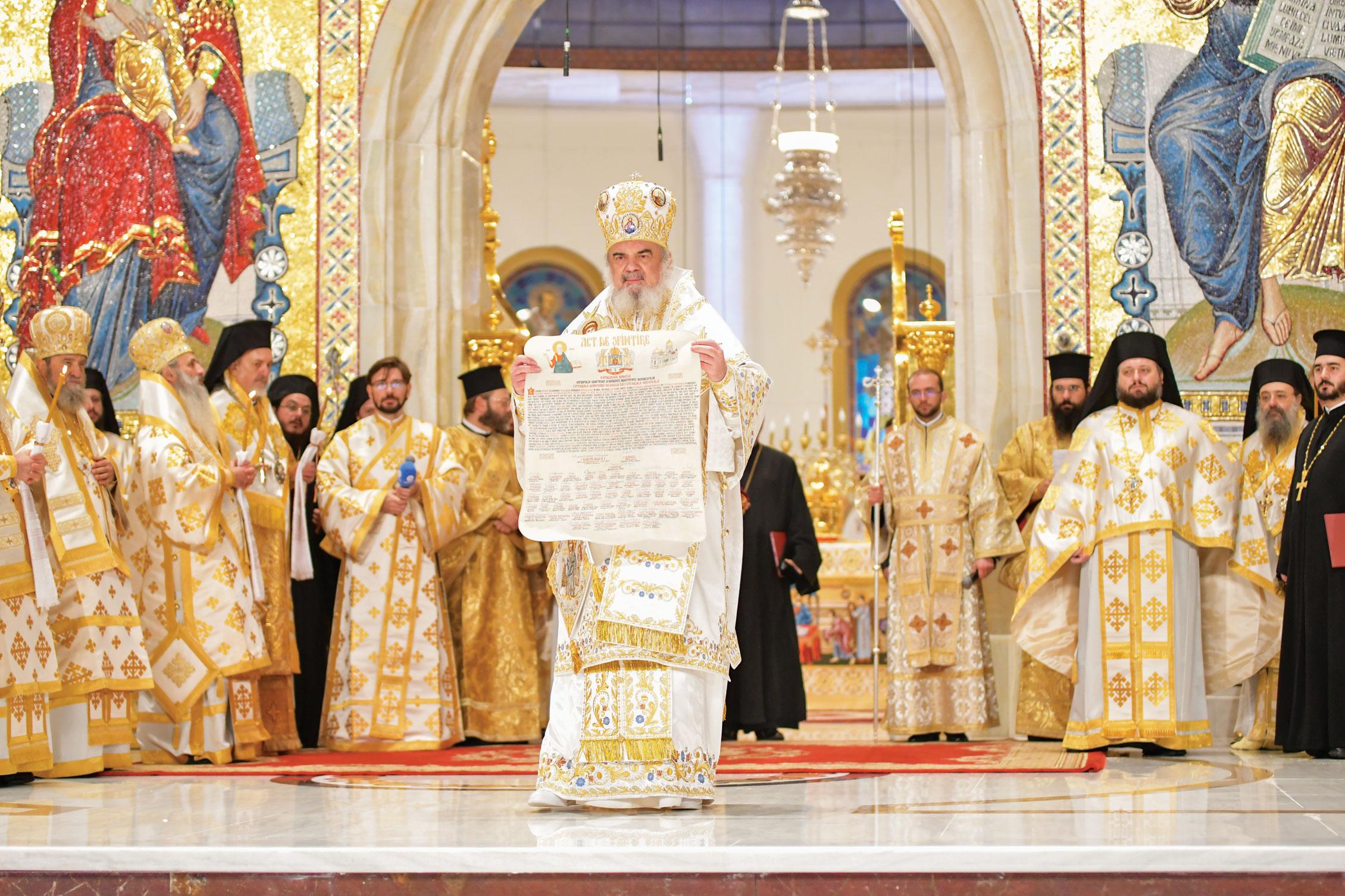 Act de sfințire a Catedralei Mântuirii Neamului