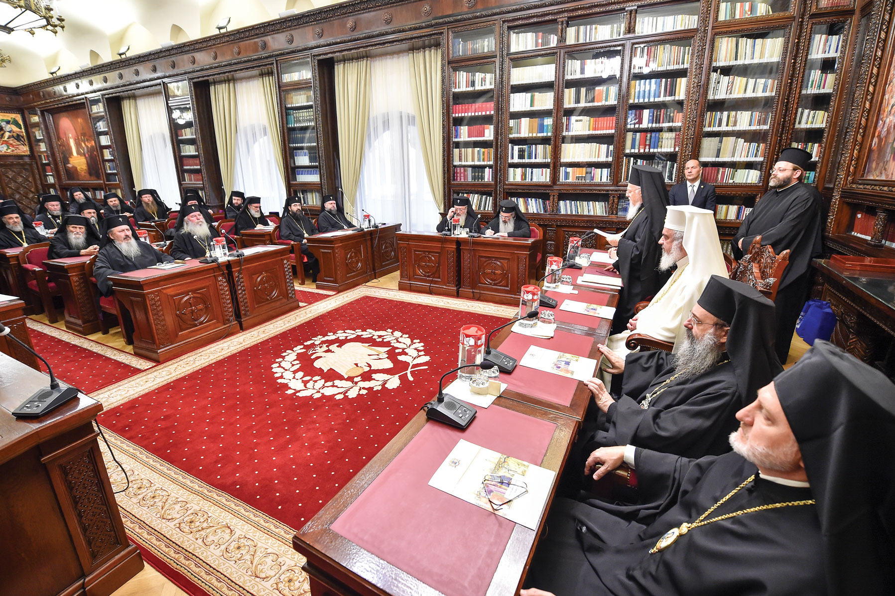 Patriarhul Ecumenic la ședința Sfântului Sinod de la București