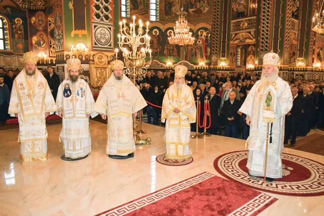 Sfințirea picturii Catedralei Arhiepiscopale din Arad