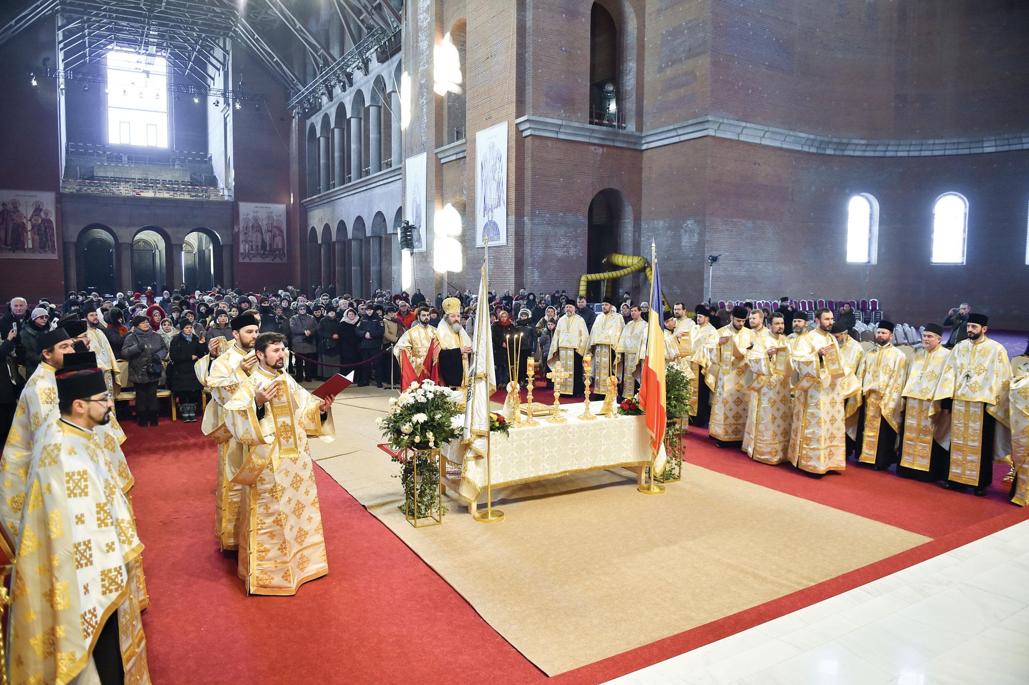 Rugăciune de mulțumire  la Catedrala Națională