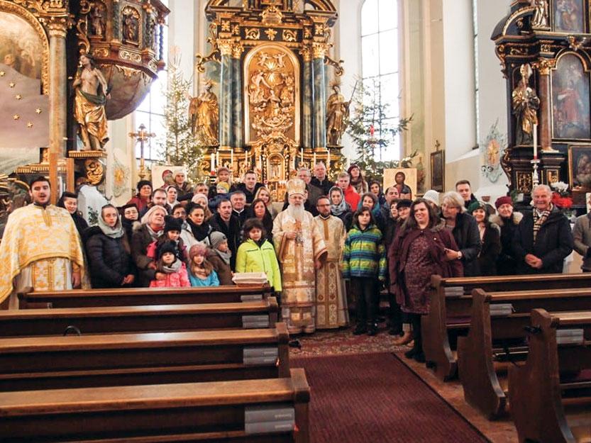 O nouă parohie românească în Austria