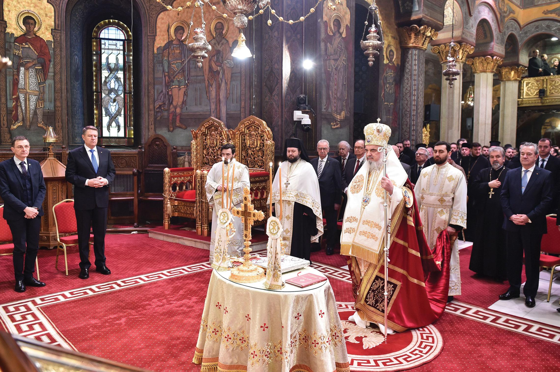Unirea Principatelor Române, sărbătorită la Patriarhia Română