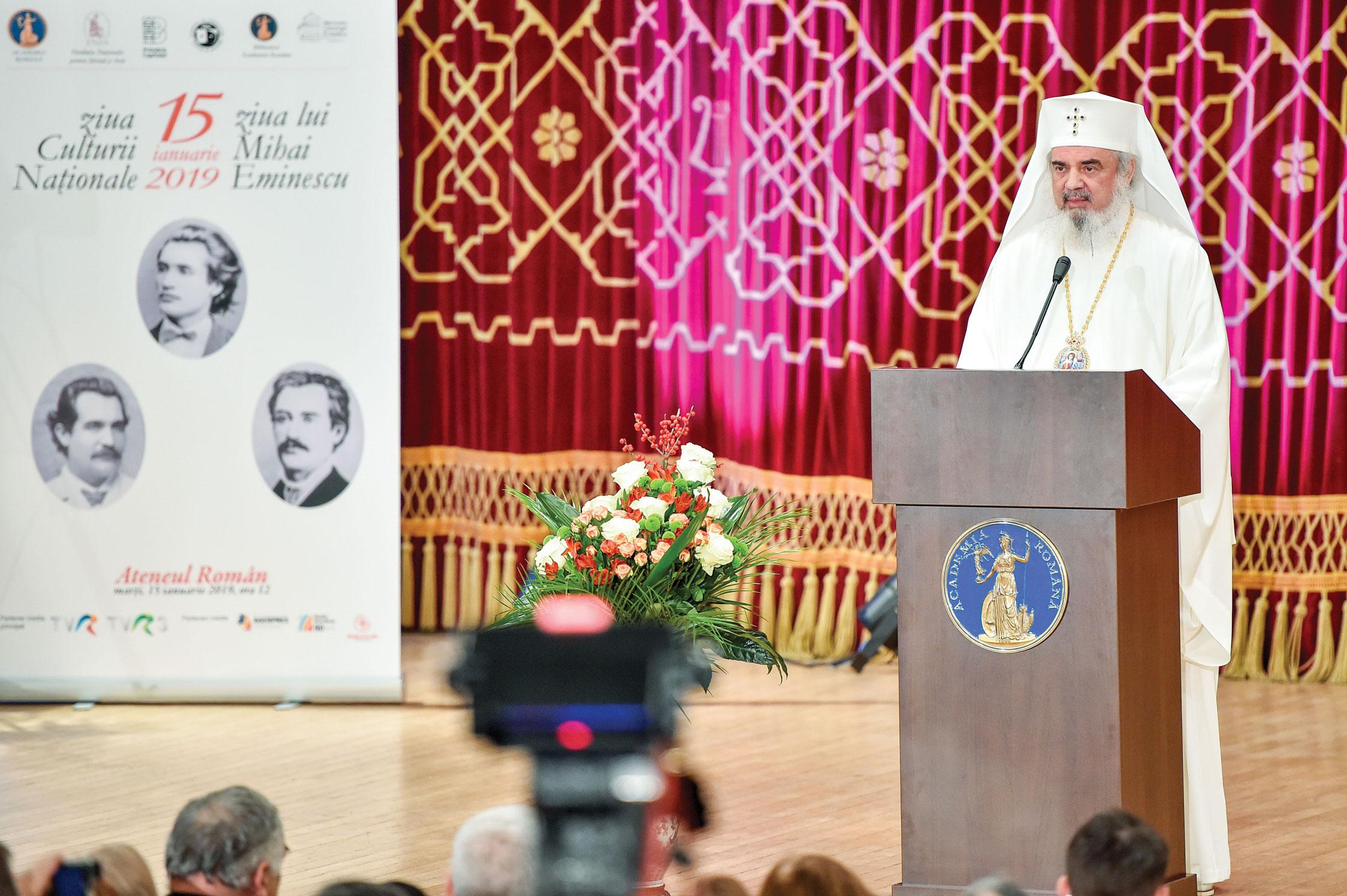 Biserica a plămădit şi promovat cultura poporului român
