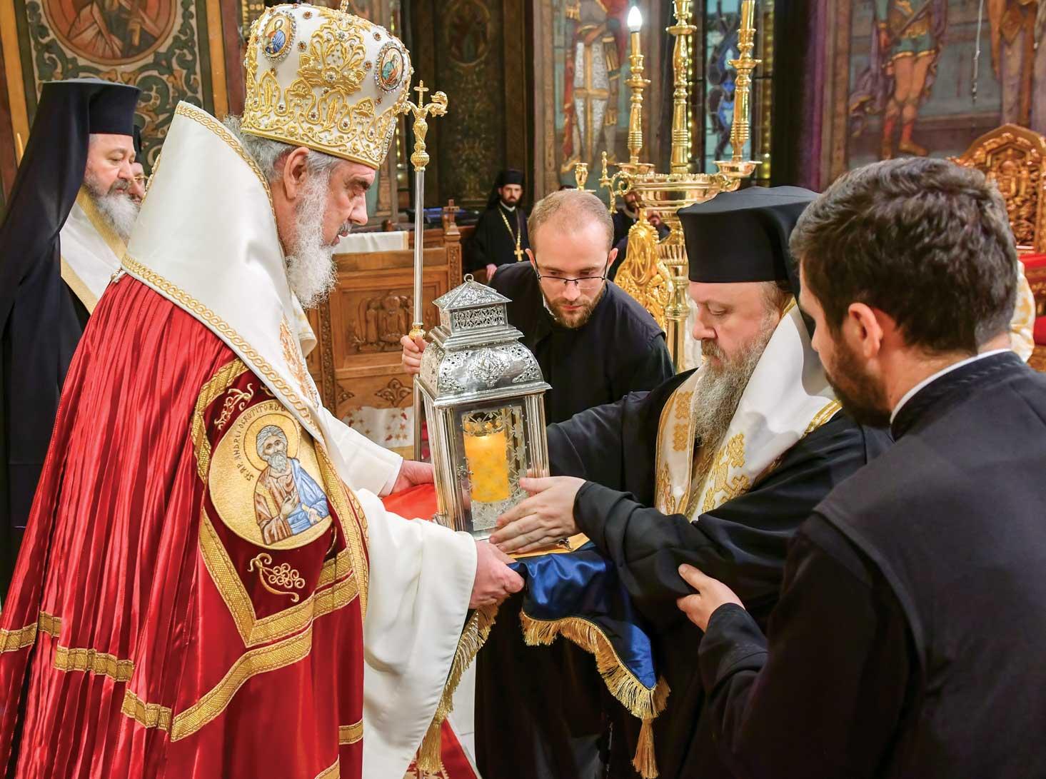Sărbătoarea Luminii la Catedrala Patriarhală