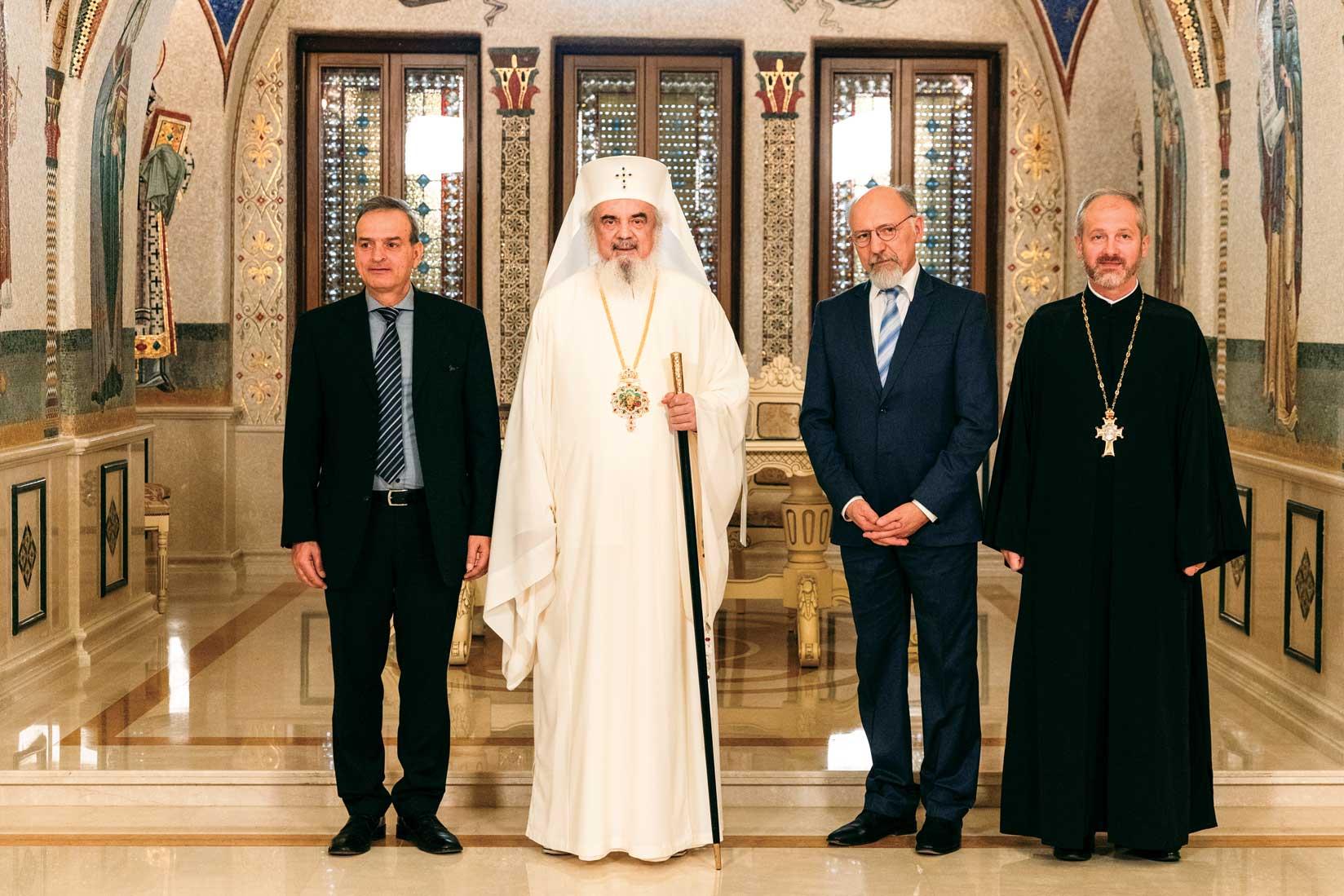 Delegație a Institutului de Teologie Ortodoxă din München la Patriarhia Română