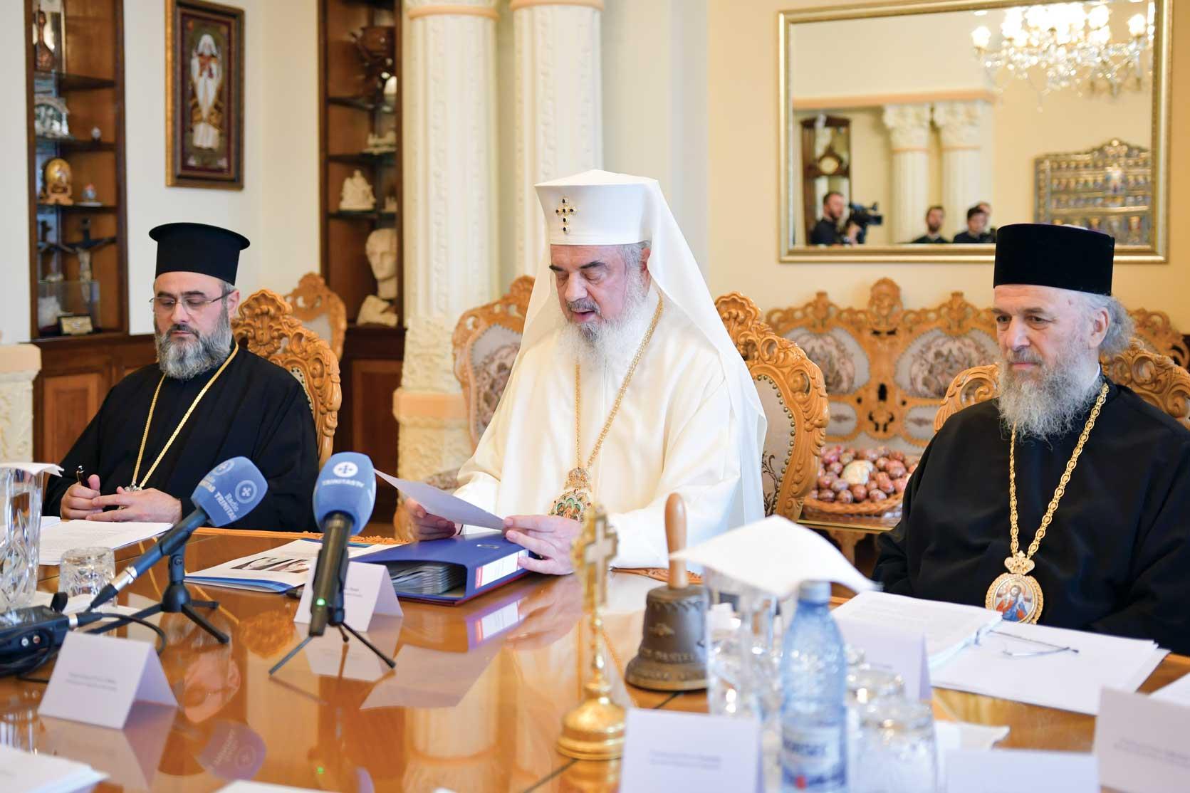 Sinodul Mitropoliei Munteniei și Dobrogei la Reşedinţa Patriarhală