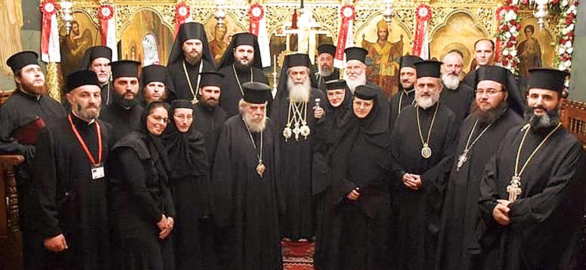 """Slujire patriarhală la biserica românească """"Sfântul Gheorghe"""" din Ierusalim"""