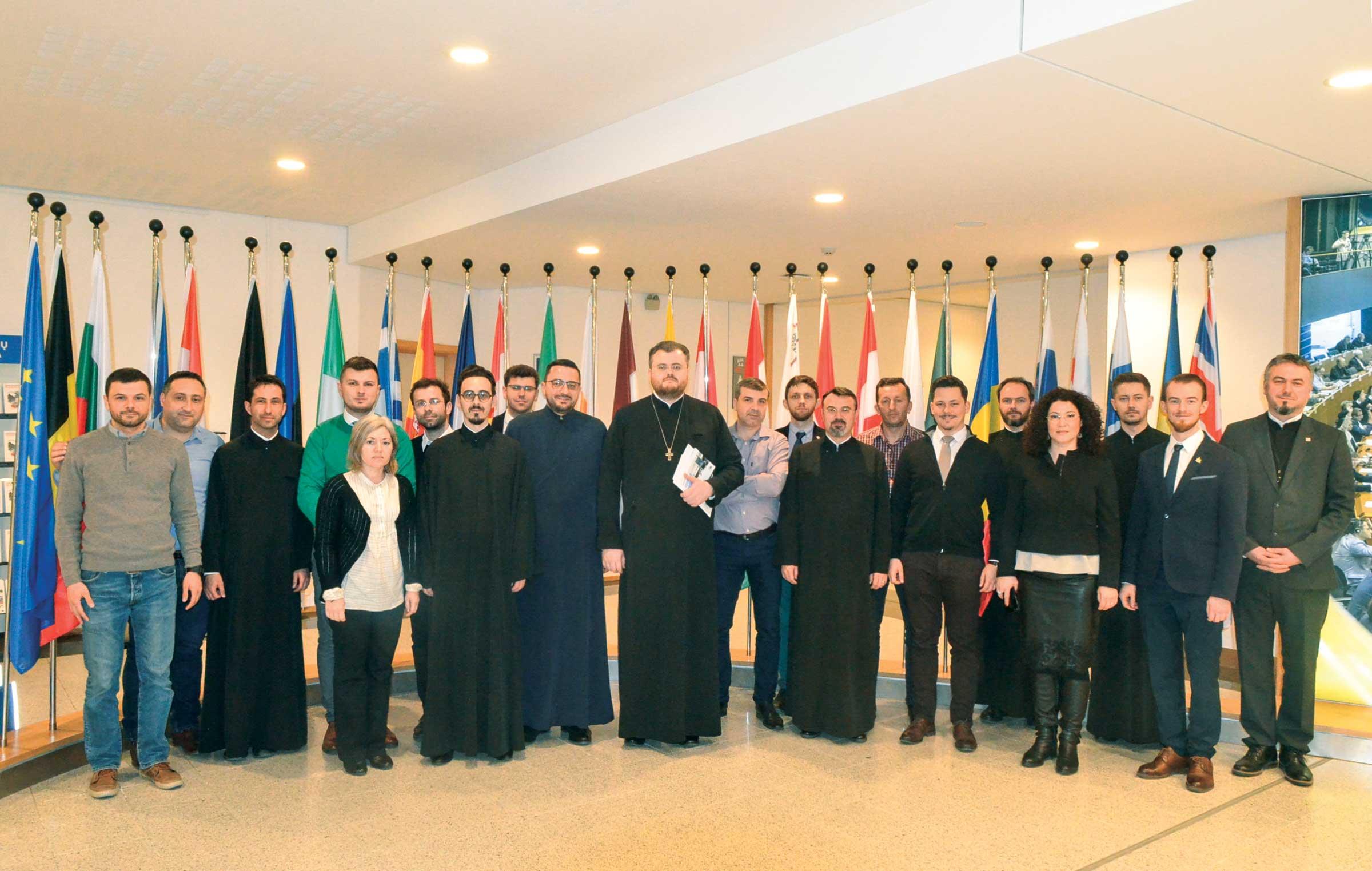 Jurnaliști creștini la instituțiile europene de la Bruxelles