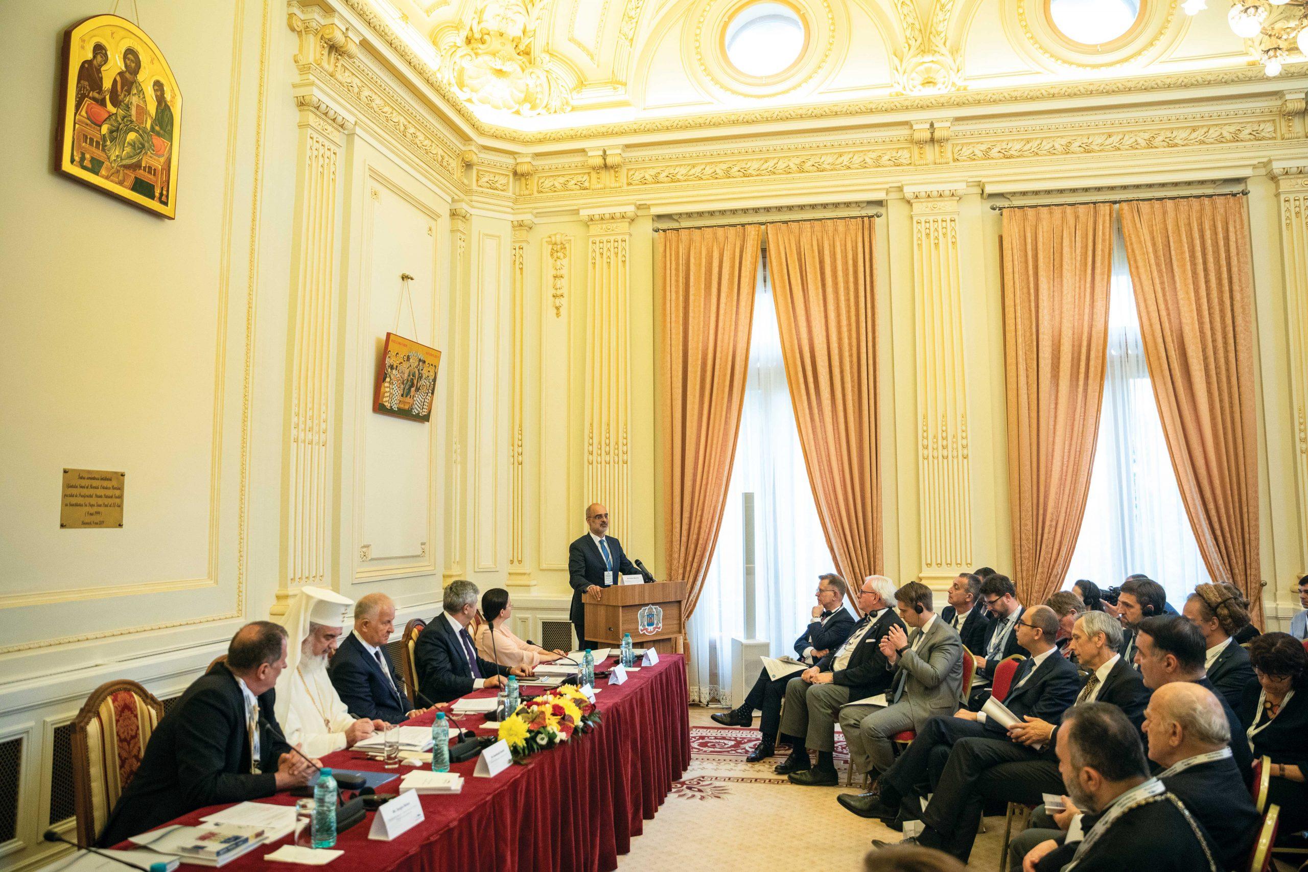 Raportul dintre Stat şi organizaţiile religioase în Uniunea Europeană, dezbătut la Palatul Patriarhiei