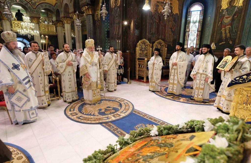 Preafericitul Părinte Patriarh Daniel în Catedrala Patriarhală, 15 august 2019