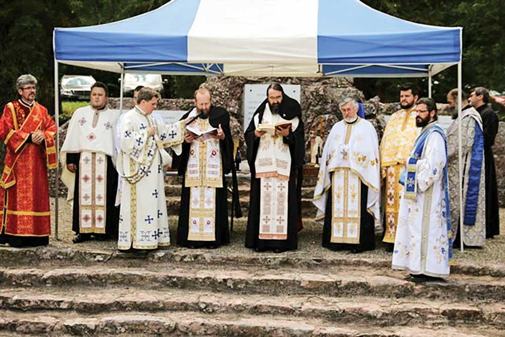 Pomenirea eroilor români din cimitirul Soultzmatt, Franța